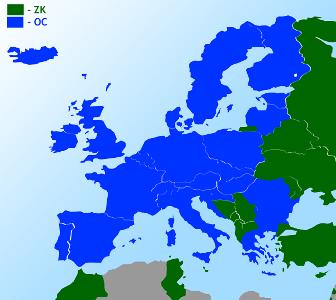 zielona karta mapa